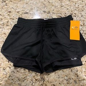 NWT Champion black workout shorts size extra small